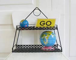 Tiered Bookshelves by Wire Shelf Etsy