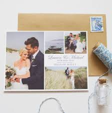 personalised wedding thank you postcards by invites