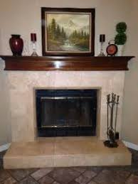 Travertine Fireplace Tile by Travertine Tile Patterns For Fireplace Premia