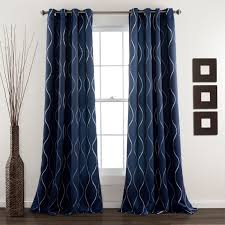 Window And Shower Curtain Sets Half Moon Swirl Window Curtain Set Hayneedle