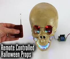 remotely control your halloween props 6 steps with pictures