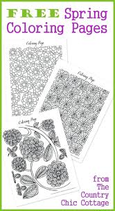 spring flowers coloring pages fantastic book free flower