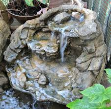 small garden waterfalls backyard u0026 fake rock waterfalls