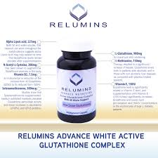 Gluta Fresh new relumins advanced white active glutathione complex