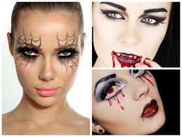 scary halloween makeup women creepy little halloween makeup