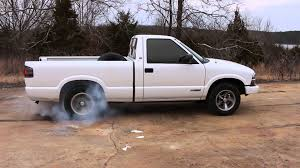 2001 chevy s10 2 2l manual burnout youtube