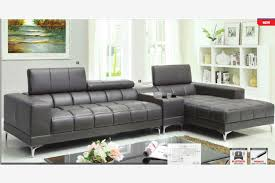 Modern Gray Leather Sofa Miraculous Inspiring Grey Leather Sectional Sofa With Modern Gray