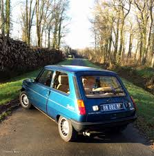 vintage renault cars this is the first turbocharged french hatch the renault 5