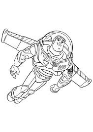 buzz lightyear flying wing toy story coloring