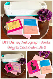 personalized autograph books diy disney autograph books the inspired home