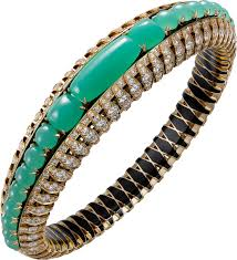 cartier jewelry bracelet images Crh6009717 high jewelry bracelet yellow gold chrysoprases png