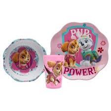 paw patrol dinnerware sets target