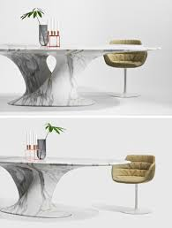 Modern Furniture Table Design Rainer Mutsch Has Designed A Furniture Collection From Milled