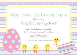 printable invitations free printable easter cards invitations