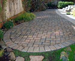 Backyard Pavers Cost by Backyard Pavers Cost Home Outdoor Decoration