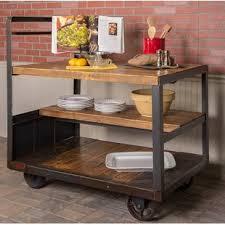industrial kitchen islands industrial kitchen islands carts you ll wayfair