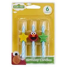 birthday cake candles sesame elmo icon birthday cake candles 6 pc