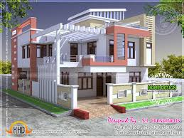 home design 2000 square feet in india modern indian house in 2400 square feet home design simple