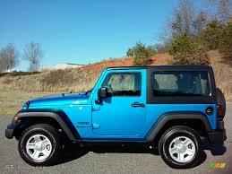 sport jeep 2016 2016 hydro blue pearl jeep wrangler sport 111213296 gtcarlot