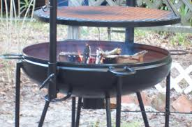 Pit Fire Grill Awesome Cowboy Cookers Fire Pits Cowboy Charcoal Grill And Fire Pit