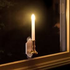 wunder light solar light 2pcs solar powered led candle light with sticker indoor home window