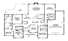 house plans for a 3000 sq ft ranch