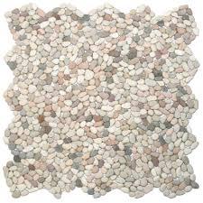 mini island mix pebble tile pebble tile shop