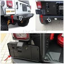 jeep wrangler auto parts auto parts rear license plate bracket holder for 07 16 jeep wrangler