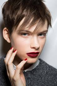 hair style angled toward face how to choose the right pixie haircut for your face shape