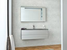 Silver Bathroom Decor by Bahtroom Casual Mirror Above Cool Silver Bathroom Vanity Installed