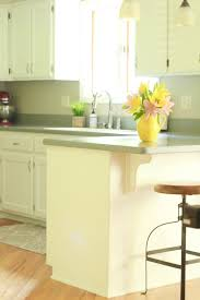 Bright White Kitchen Cabinets Chalk Painted Kitchen Cabinets From Honey Oak To White