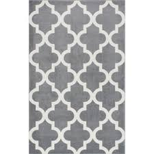 Area Rug Pattern Gray White Area Rug Square Grey Parallelogram Pattern Throughout