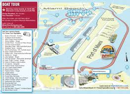 Map Of Downtown Disney Orlando by Miami Boat Tour Map Miami Beach 411 Travel Store