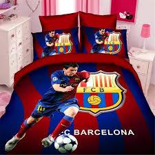 Single Bed Linen Sets Wholesale Soccer Star Kids Bedding Set Of Twin Single Size Duvet