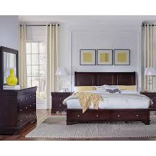 avalon 5 piece cal king storage bedroom set