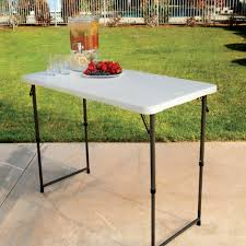 Folding Table Adjustable Height Costco Folding Table Adjustable Height Best Table Decoration