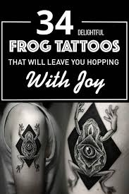 34 delightful frog tattoos that will leave you hopping with joy