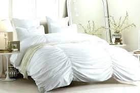 ruched white duvet cover king white ruched duvet cover target