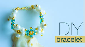 how to make pearl bracelet diy bracelets easy pearl jewelry