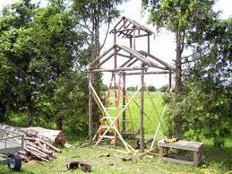 how to build a rustic arbor hometalk