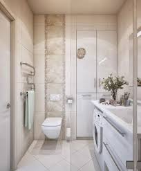 interior contemporary design with polished cream marble tile wall