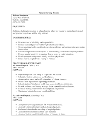cosy nurse intern resume examples for your nursing student resume