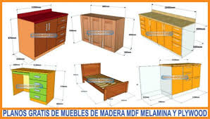 mdf furniture and diy wood furniture elements using these free