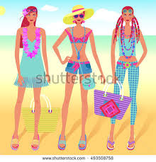fashion sketches stock vector 317585834 shutterstock