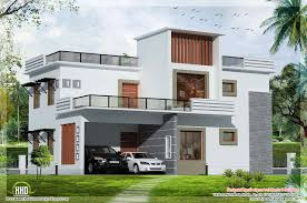 Modern House Plans Designs Two Floor Houses With 3rd Floor Serving As A Roof Deck