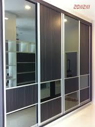 Cloth Closet Doors Sliding Mirror Closet Door Floor Track Within Dimensions 1000 X