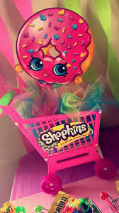 shopkins birthday party centerpiece shopkins pinterest