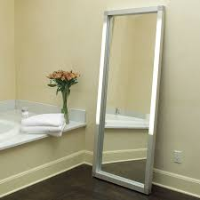 Bathroom Mirror With Tv by Full Length Mirror With Lights Home Design