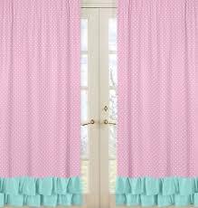 Magenta Curtain Panels Sweet Jojo Designs Skylar Curtain Panels U0026 Reviews Wayfair