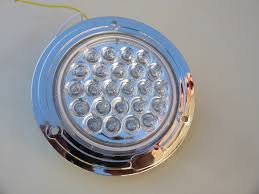 10 30v led round 2 blinker 2 reverse n 2 stop tail light